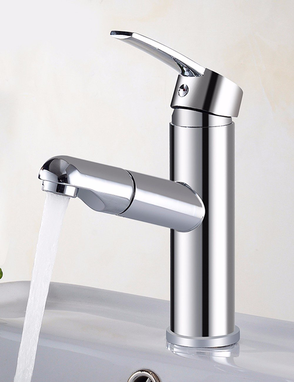 Faucet Basin Faucet Copper Bath Faucet Hot And Cold Dish Washing Basin Faucet Drawing Faucet Hot And Cold