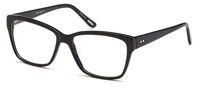 Amazon.com: Womens Wayfarer Glasses Frames Black Prescription ...