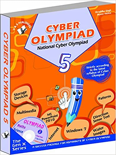 Buy National Cyber Olympiad - Class 5 with CD: Theories with