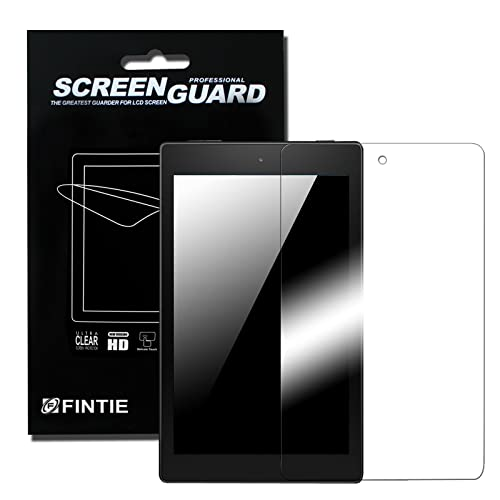 Fintie [3-Pack] Screen Protector for Fire HD 8 - [Ultra-Clear] Screen Shield Protector for Amazon Fire HD 8 Tablet(5th Generation 2015 / All-New 6th Generation 2016), Retail Package