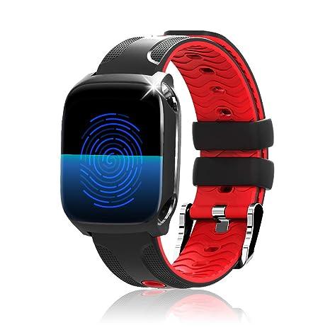 reloj inteligente,HUOU 1.3 pulgadas Reloj Iinteligente Hombre Mujer niños, Reloj de Fitness