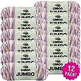 Caron 99574 Jumbo Print Yarn-Easter Basket, Multipack of 12, Pack