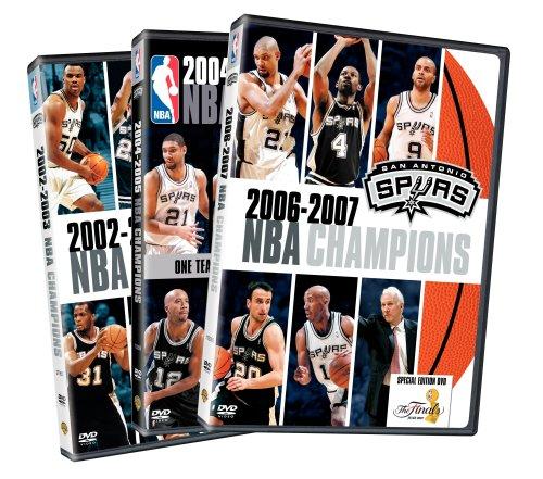 NBA Champions 2002 - 2007: San Antonio Spurs (3-Pack) ()