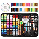 Balight 200pcs Basic Sewing Kit, Wool Felt Mold DIY Sewing Supplies Sewing Accessories for DIY, Home, Travel, Beginner, Adults