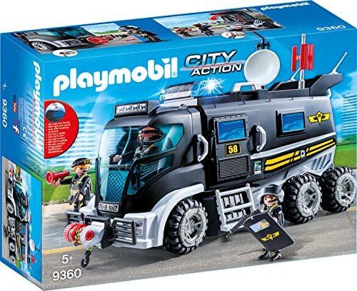 PLAYMOBIL City Action 9360 SEK-Truck