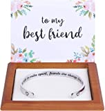 Hidden Message Bracelet -Great Friend Gifts, Friendship Jewelry, Come with Gift Box & Cute Card, Perfect Gifts for…