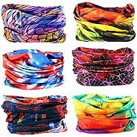 Headwear - 6PCS Scarf Bandanna Headband Yoga Sports...
