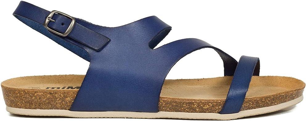 VAQUETILLA – Cuña Bio Tiras Azul Marino: Amazon.es: Zapatos y complementos