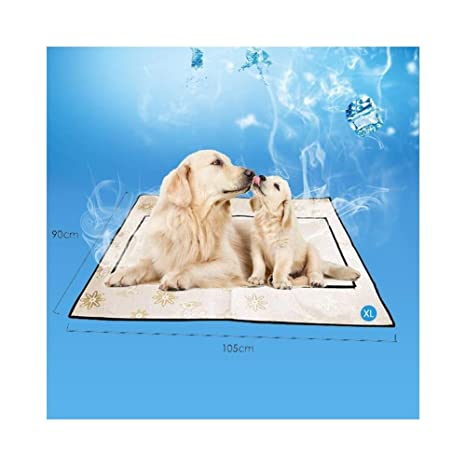 7°MR L/XL Summer Cooling Mat Pet Pad Perro Camas Esteras ...