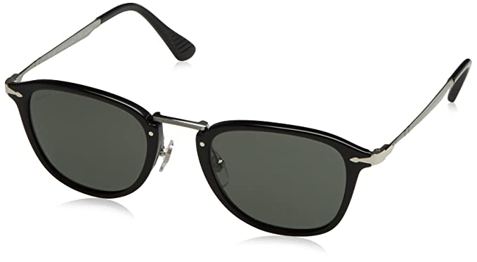 373bf20a2ad Amazon.com  Persol PO3165S Sunglasses 95 58-52 - Black Frame