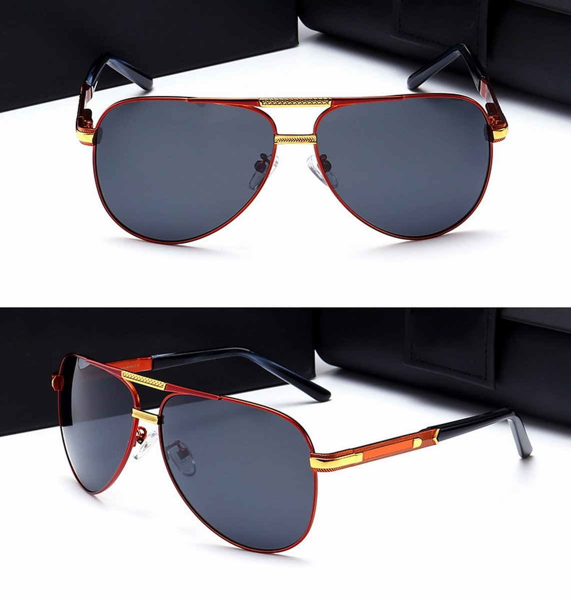 Herren-High-Definition Polarisierte Sonnenbrille Mode Anti ...