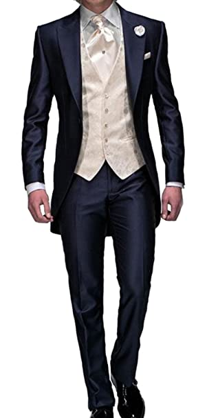 Amazon.com: Dennis Vestido corbata para hombre, color azul ...