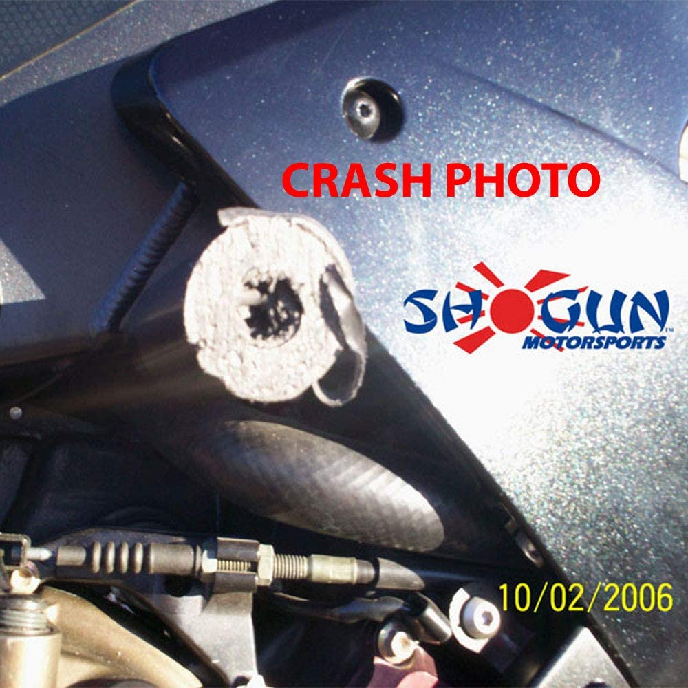 MADE IN THE USA 2004-2005 Kawasaki ZX10R Black No Cut Frame Sliders 750-4909