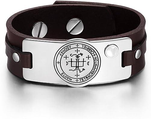 Leather Phoenix Bracelet Left Hand