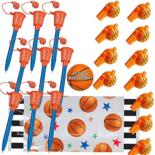 Basketball Shaped Goody Bags - 3