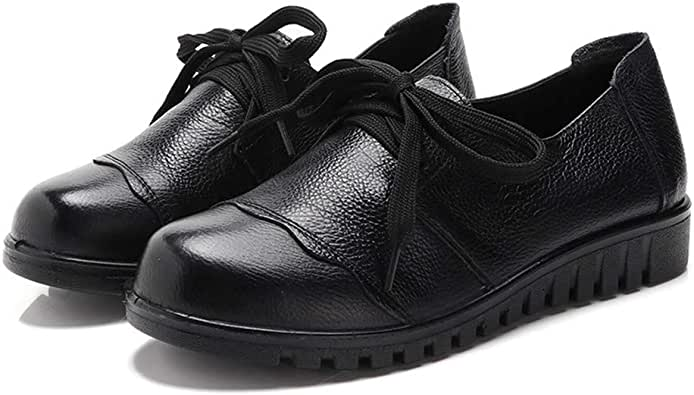 Amazon.com | Women's Patent Leather Low Heel Penny Loafers ...