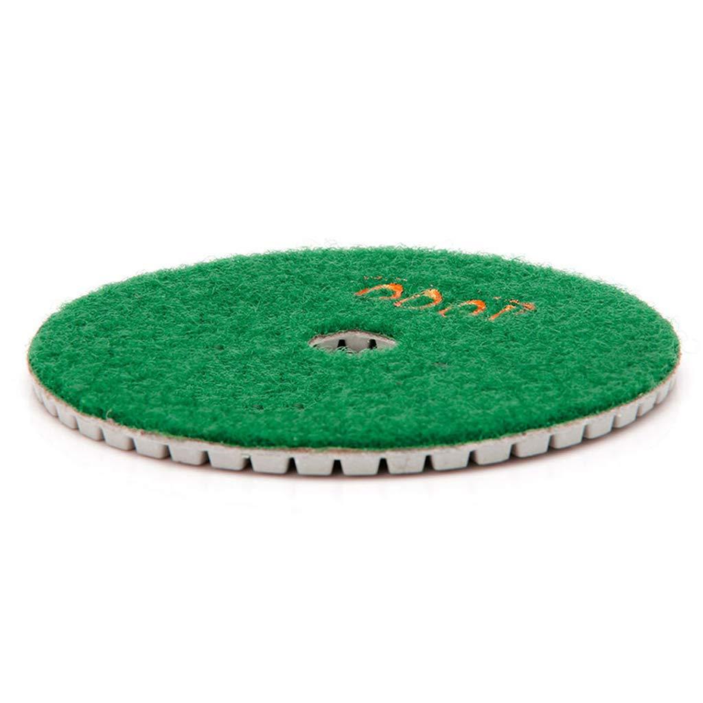 BIlinli /Almohadillas de Pulido de Diamante de 4de 100 mm Disco de m/ármol de hormig/ón de Piedra de Granito h/úmedo//seco