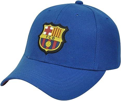 Rhinox FC Barcelona FCB Barca España fútbol la Liga Gorra de Velcro Curva Bill Sombrero Gorra: Amazon.es: Deportes y aire libre