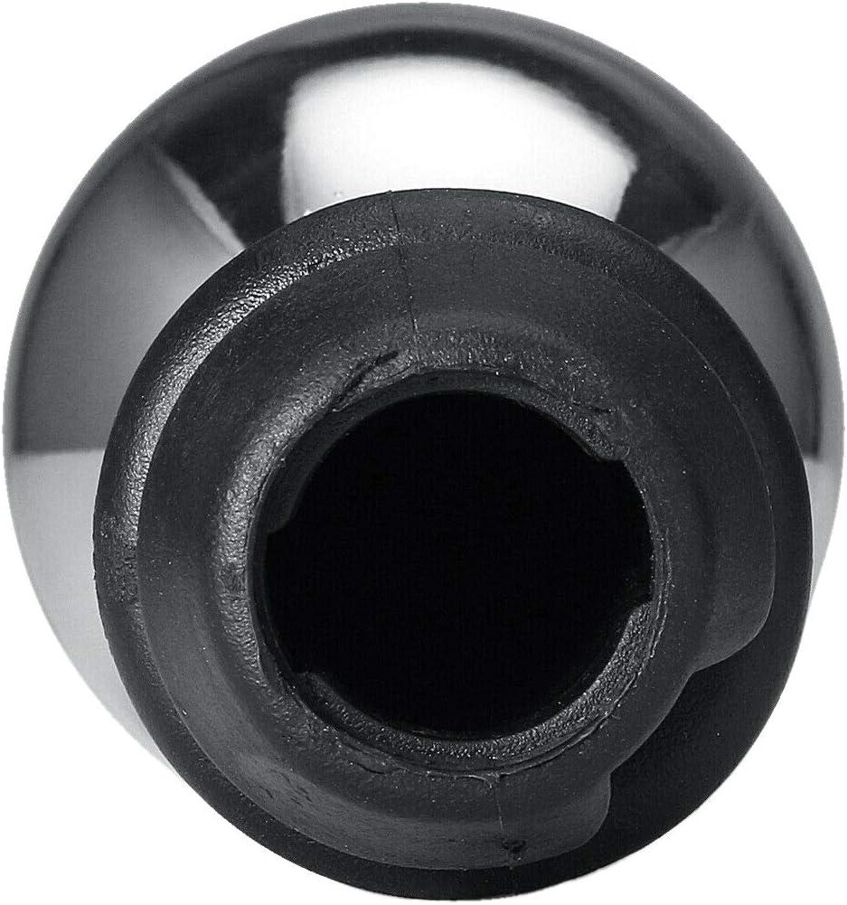 Dcolor 5 Gang Aluminium Schaltknauf f/ür 106 206 207 306 307 407 408 508 Silber Schwarz Nummer