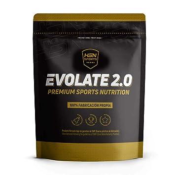 Whey Protein Isolate (WPI) de HSN Sports - Aislado de Proteína de Suero Evolate 2.0 - Sabor Chocolate - 2000 gr: Amazon.es: Salud y cuidado personal