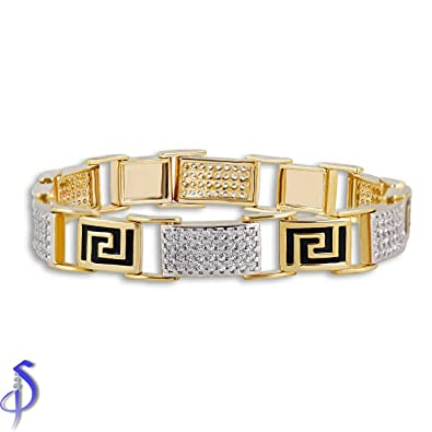 Buy Affordable Mens Diamond Bracelet line at Low Prices in India