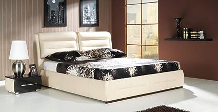 Design lusso lounge letto imbottito letto matrimoniale letto futon