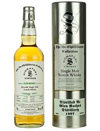 Glenrothes 21 Year Old 1997 - Un-Chillfiltered Collection Single Malt Whisky