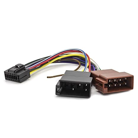 Cavo adattatore connettore ISO per autoradio KENWOOD 16 pins