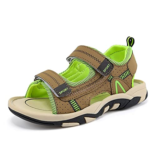 8ece9c0ec255 Sawimlgy Boys Girls Adjustable Straps Casual Sport Water Sandals Outdoor  Beach Shoes (Toddler Little