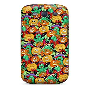 Perfect Pumpkin Frogs Case Cover Skin For Galaxy S3 Phone Case