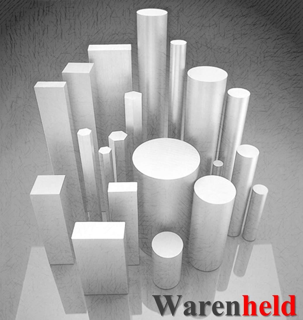 Material redondo de aluminio, AlCuMgPb, diámetro 42 mm, longitud 300 mm, barra redonda de aluminio