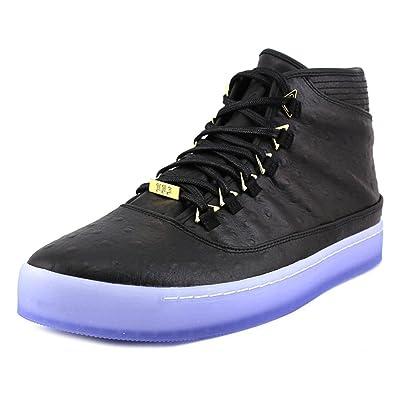 fceba581036 Jordan Nike Mens Westbrook 0 PREM Black/Metallic Gold-Clear Leather Size  10.5