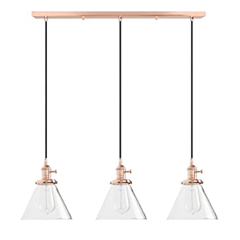 Lights & Lighting Vintage Metal Glass Shade Ceiling Lamp Fixture Bedroom Dinning Table Hanging Lamp Fitting