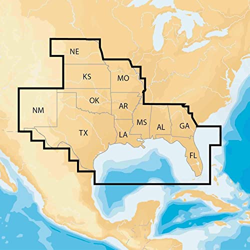 Navionics MSD NAV SO Regions South Preloaded – microSD