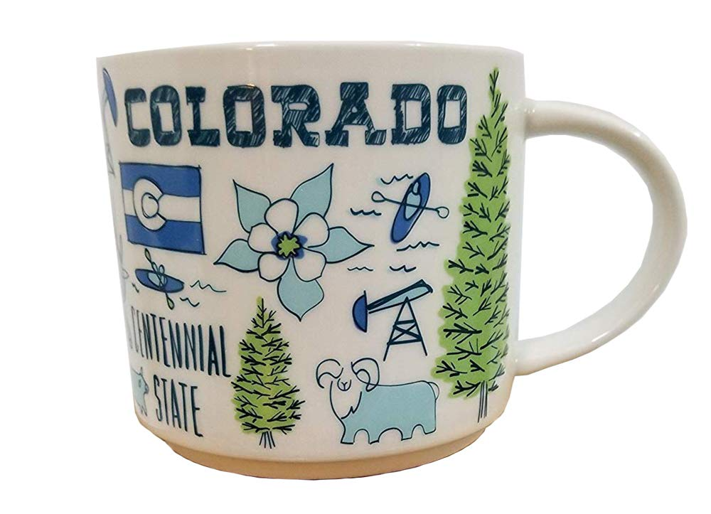 Starbucks Been There Series Colorado Mug