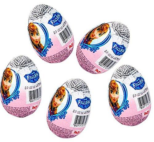 "Disney ""Frozen"" Movie Chocolate Surprise Eggs, Zaini Ltd. [Pack of ..."