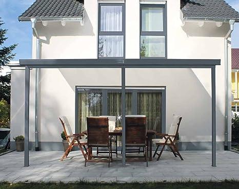 Gutta - Sistema di copertura tettoia per terrazza in alluminio ...