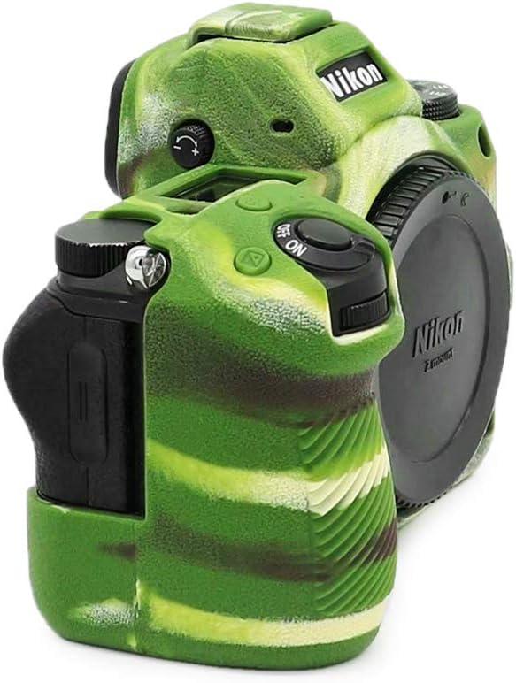Kinokoo Carcasa de silicona para Nikon Z6 Z7