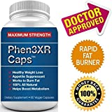 PHEN3XR CAPS - HIGHEST Rated Pharmaceutical Grade Weight Loss Diet Pills - Fast Weight Loss, Increase Metabolism, Fat Burner and Appetite Suppressant - WEIGHTLOSS AID!