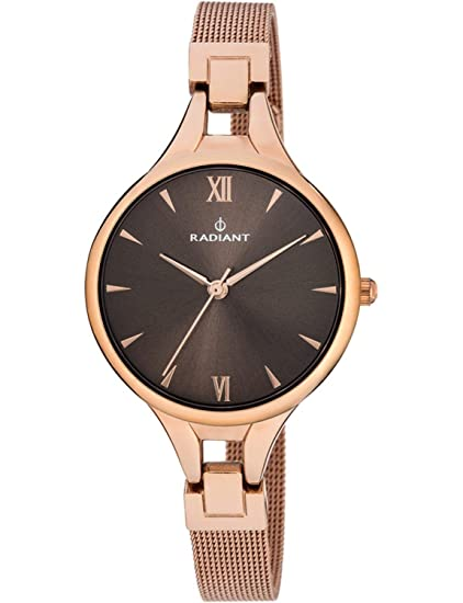 Radiant Reloj Analógico para Mujer de Cuarzo con Correa en Acero Inoxidable RA423204: Amazon.es: Relojes