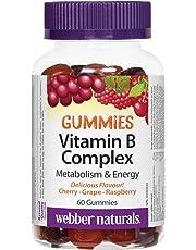 Webber Naturals Webber Natruals B Complex Gummy 60 Count