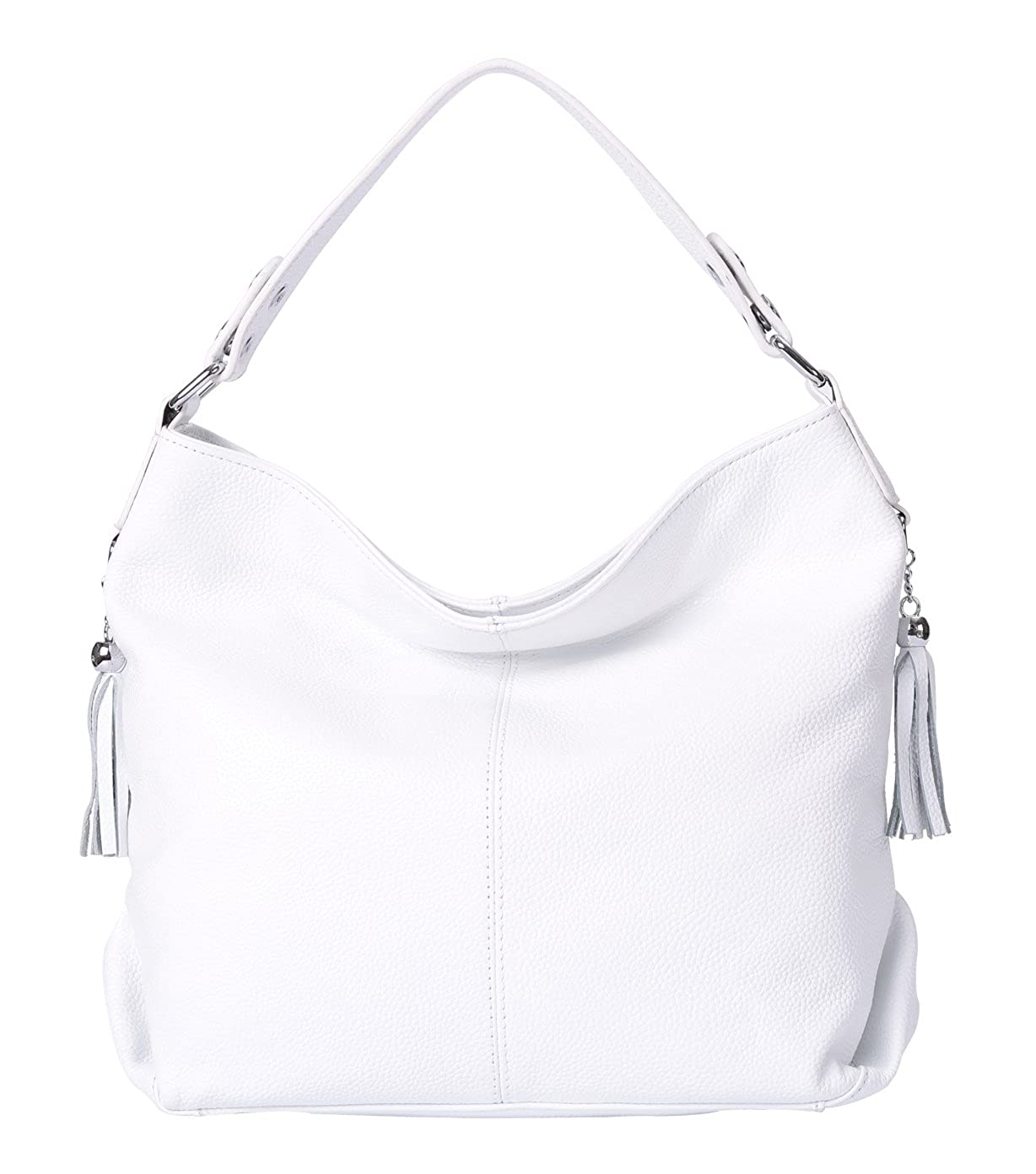 e75cdcc0493783 Amazon.com: BIG SALE-AINIMOER Womens Leather Vintage Shoulder Bag Ladies  Handbags Large Tote Top-handle Purse Cross Body Bags(White): AINIMOER US