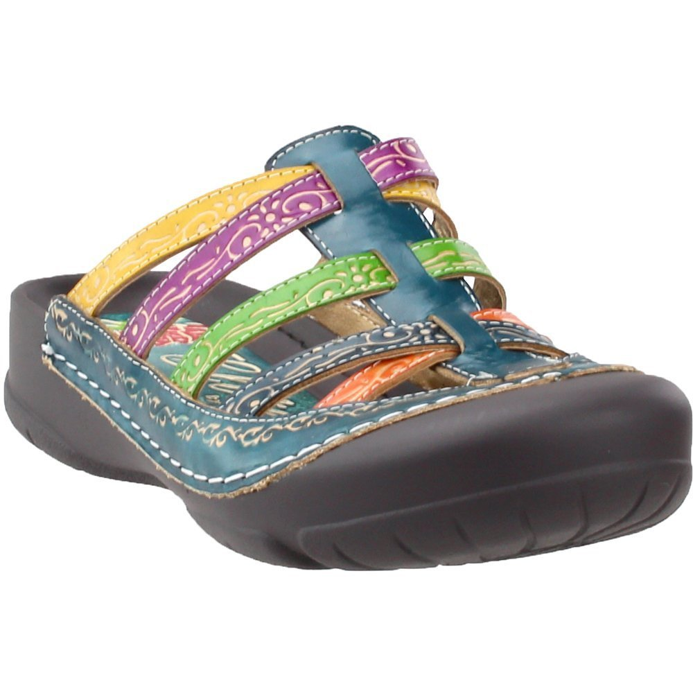 Corkys Rock Women's Slip On B00CF26HBC 8 B(M) US|Blue Multi