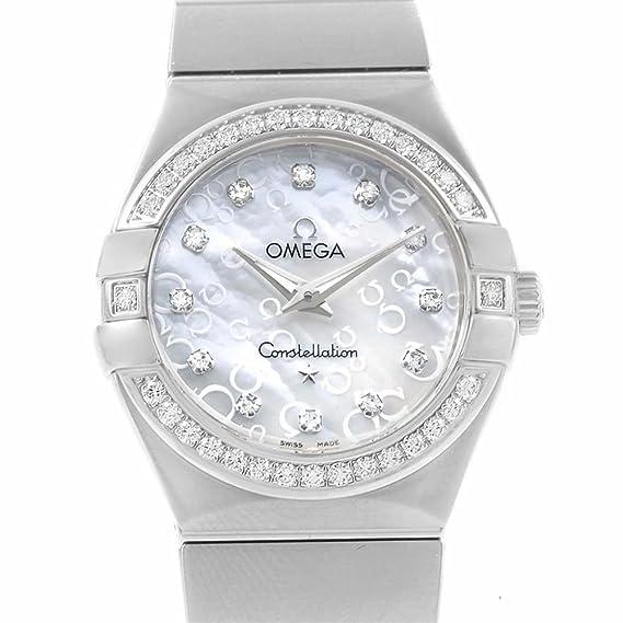 Omega constelación cuarzo mujer reloj 123.15.27.60.55.005 (Certificado) de segunda mano