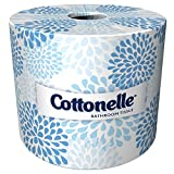 Kleenex Cottonelle Bulk Toilet Paper (17713), 60 Individually Wrapped Toilet Paper Rolls, White (27, 060 Sheets Per Case)