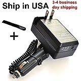 Kodak EasyShare M341 Digital Camera KLIC-7001 Compatible Battery Charger with Car Adapter – Bargains Depot®