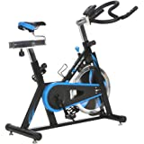 exerpeutic lx7 indoor cycle trainer with computer monitor and heart pulse sensors bike office chair
