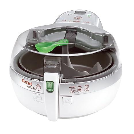 Tefal ActiFry Solo Low fat fryer 1400W Transparente, Color blanco - Freidora (Low fat fryer, ActiFry, Solo, Transparente, Blanco, 1400 W, 1 kg)