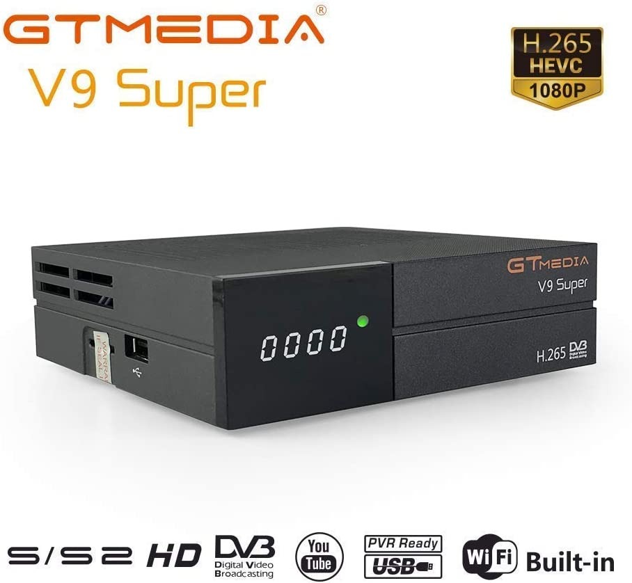 GT Media V9 Super DVB S2 Decodificador Satelite Receptor Oficial ...