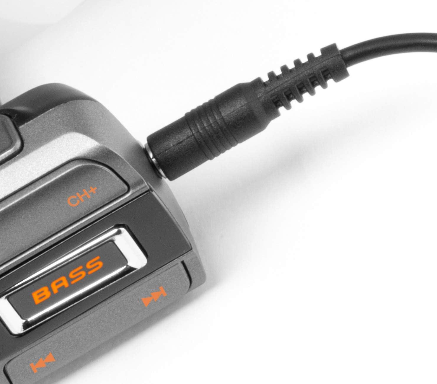 Technaxx Fmt1350bt Transmitter Bass Booster Audio Streaming Bassverstärkungstaste Musik Auto Bluetooth Usb Mikrofon Schnelladefunktion Qc3 0 Microsd Freisprecheinrichtung Navigation